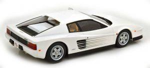 Ferrari Testarossa White KK Scale 1:18 KKDC180502