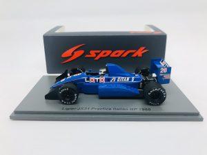 Ligier JS31 Italian GP Practice 1988 S. Johansson