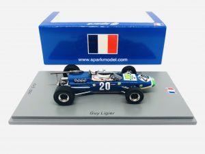 McLaren M4A GP Pau F2 1968 Guy Ligier
